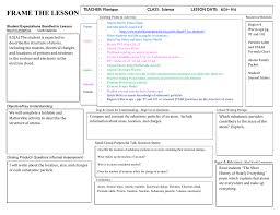 Lesson Frame Week 2