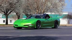 1997 Chevrolet Corvette Mallett Green Slime | T226 | Indy 2016