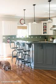 Painted Kitchen Furniture Painted Kitchen Cabinet Ideas And Kitchen Makeover Reveal The