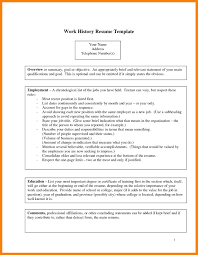 6 Employment History Template Authorize Letter