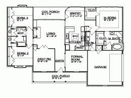 simple 4 bedroom house plans. level 1 simple 4 bedroom house plans