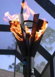 Garden Torches Give Soft Elegant Light To Your Backyard  Outdoor Backyard Torch