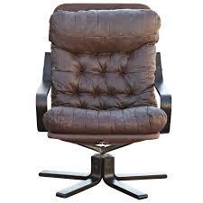 norwegian vintage office chair. Westnofa Scandinavian Rosewood \u0026 Leather Lounge Chair For Sale Norwegian Vintage Office O