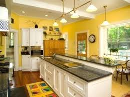 yellow and white painted kitchen cabinets. Yellow Kitchen Paint With White Cabinets Chalk Painted . And A