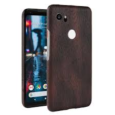 pixel 2 xl case wood texture pu leather hard pc protective case