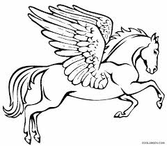 Printable Pegasus Coloring Pages For Kids Cool2bkids Colorbook Pages