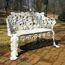 white iron garden furniture. Vintage Wrought Iron Furniture Antique Patio For Sale White Garden . S