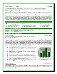 Sample Sales And Marketing Resume Sales And Marketing Resume Format Sales Marketing Resumes 2