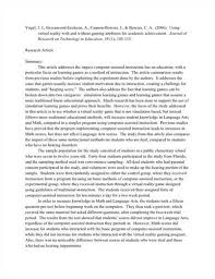 Critical Review Journal Article Essay