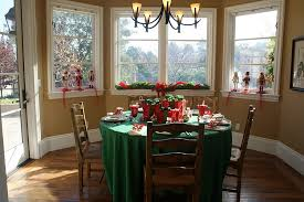 decorating dining room ideas. Simple And Effective Way To Decorate The Dining Space This Christmas [ Design: Jill Asher Decorating Room Ideas