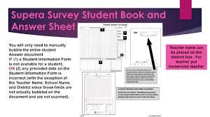 Survey Test Book Answers Terranova Supera Survey Campus Name Spring Ppt Download