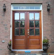 popular of glass double door with simple exterior double door solid wood entry doors