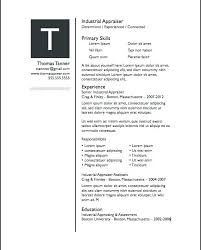 Free Resume Templates For Pages