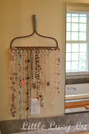 Rake Jewelry Rack