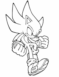 Sonic X Coloring Pages Free Psubarstoolcom