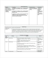 Sample Lesson Plans Format Teaching Template Sample Lesson Plans Guidance Plan Format Simple