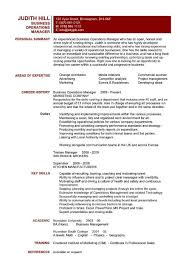 operations manager cv download business operation manager resume haadyaooverbayresort com