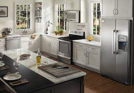Full Kitchen Appliance Package Kitchen Appliances Bundle Kit Whirlpool White 4 Piece Electric