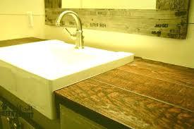 faux wood laminate countertops