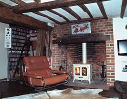 restoring red brick fireplace ideas