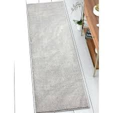 grey rug runner well woven modern solid soft light grey runner rug black and grey floor runner gray hallway runner rug