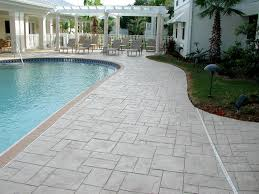 stamped concrete pool patio. Stamped Concrete Pool Deck Photos | Stamps Patio