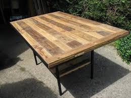 diy pallet outdoor dinning table. Diy Pallet Outdoor Dining Table DIY Industrial | 99  Pallets Diy Pallet Outdoor Dinning Table L