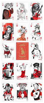 Face Card Design Preorder Only Pack Of Dogs Playing Cards Playing Cards