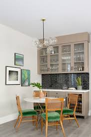 Wall décor accent pieces are a tried and true addition for all home decorators looking to enhance the look of any wall area. 75 Beautiful Single Wall Home Bar Pictures Ideas May 2021 Houzz