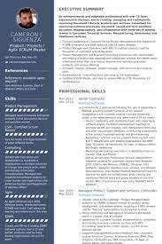 senior contractor resume samples scrum master resume