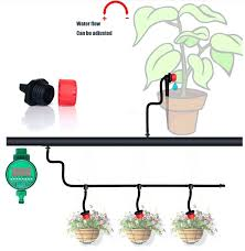 diy automatic watering system automatic irrigation micro drip irrigation system self automatic watering timer garden hose diy automatic watering system