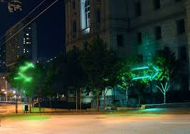 a rendering of synesthesia the winning lighting design for larkin street credit synesthesia team