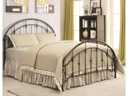 Coaster Iron Beds and Headboards Metal Curved Queen Bed | Value City ...