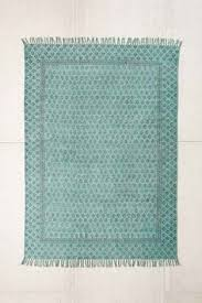 heidi overdyed block print rug urban outfitters cep ice magazine rack