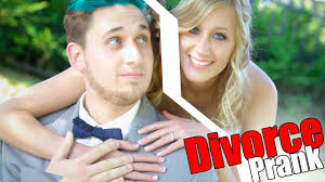Divorce Prank Break Up Youtube