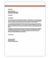 Letter Format Word 2010 Word Template Category Page 3 Vinotique Com