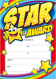 Star Student Certificates Amazing Award Certificates Certificate Templates Star