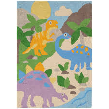 kids rugs asiatic junior candy cc04 dinosaurs rug 100x150