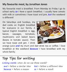 Describe Your Essay Describe Your Home Essay My Favourite Meal Learnenglish Teens