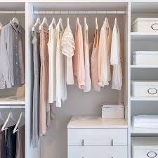 custom closets for women. Contemporary For Clothes Hanging On Rail In White Wardrobe White Custom Closet Organizer And Closets For Women