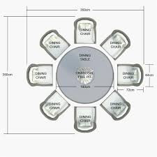 round table 10 personnes beautiful round table dimensions round 8 dining table size dimensions table 2
