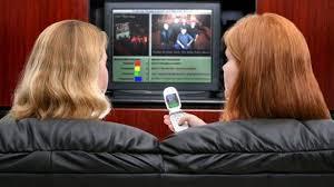 نتيجة بحث الصور عن الأميركيون يشاهدون التلفاز