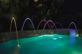 Floating Pool Fountain With Lights Pool Fountain Magicstream Laminar Pentair Aquatic