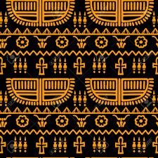 Tribal Art Egyptian Vintage Ethnic ...