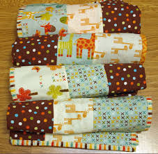 4 Baby Quilts in 4 Hours with 4 Fat Quarters +: Tutorial ... & Make 4 baby quilts Adamdwight.com