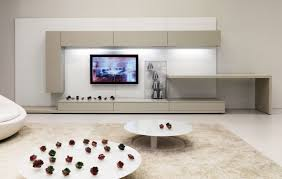 Tv Decorating Ideas Tv Room Decorating Ideas White Leather Cushion Red White Gray Wall