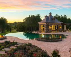 infinity pool backyard. 21 Landscape Small Backyard Infinity Pool Design Ideas 0