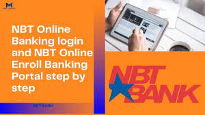 NBT Online Banking login and NBT Online Enroll Banking Portal step by step  - Money Subsidiary