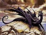 Схемы вышивок драконов бисером