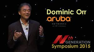 Nth Symposium 2015- GenMobile & The All Wireless Workplace: Aruba Networks, Dominic  Orr - YouTube